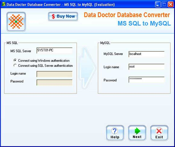 MSSQL Conversion Software