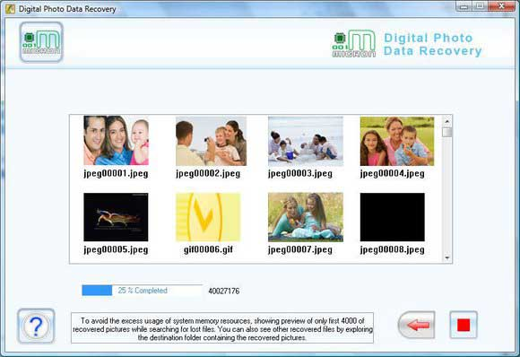 Recover Corrupt JPG Files screen shot